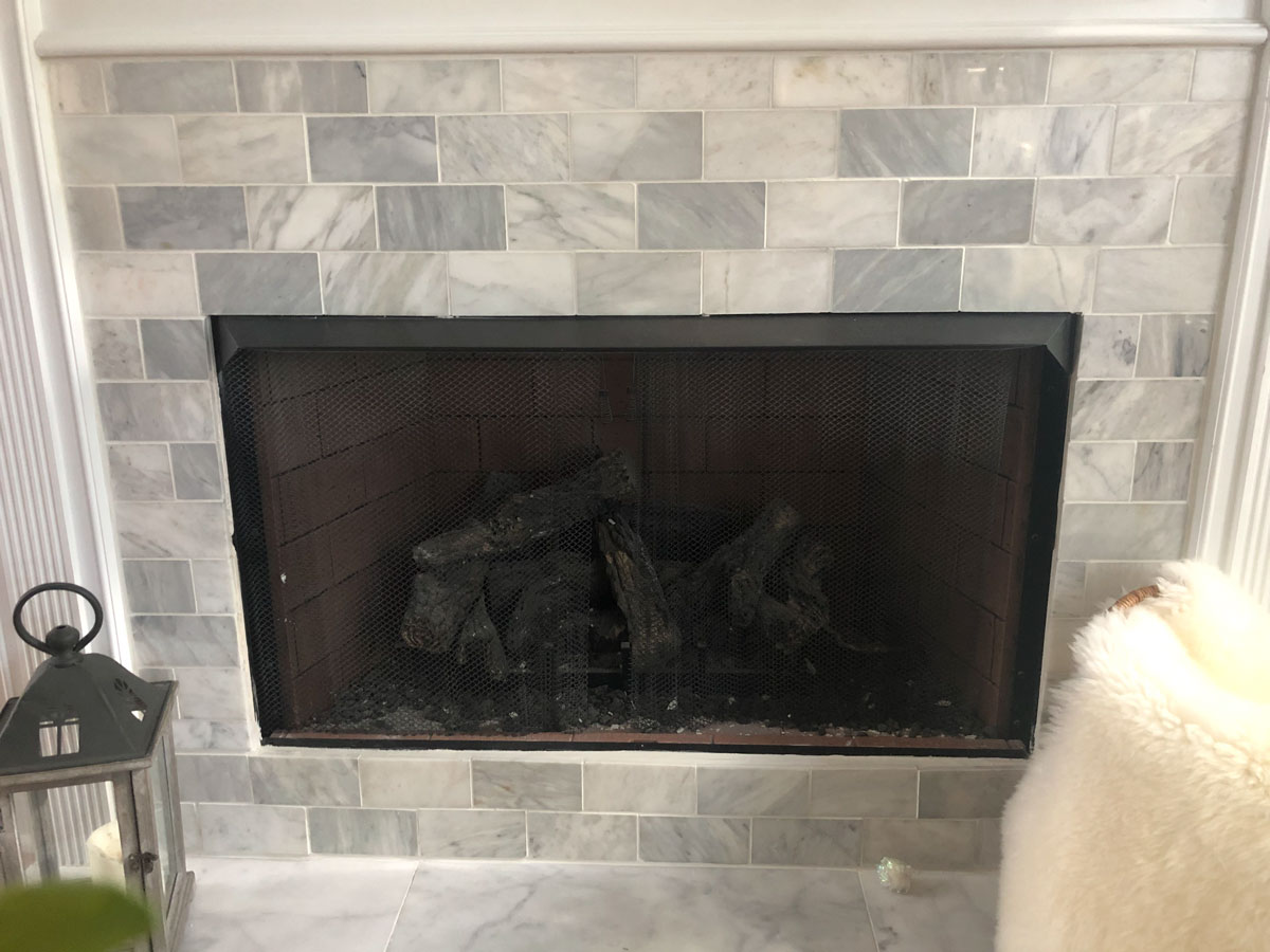How To Tile A Fireplace South Georgia Style